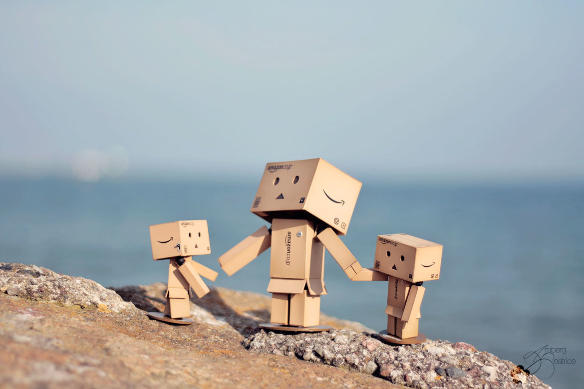 Danbo-Familys trip to the Baltic Sea